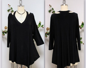 Dare2bstylish  Peek a Boo Shoulder Plus and Regular size tunic . M to 3XL