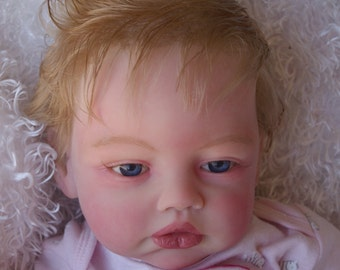 Reborn Baby Girl Doll Beautiful Kylie by Romie Strydom Finished Doll