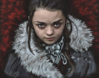 Arya Stark Limited Edition Print