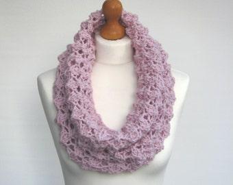 Knit Infinity Scarf Cowl Women
