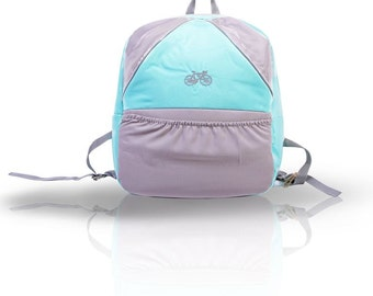 BACK TO SCHOOL! Aqua Pastel Backpack