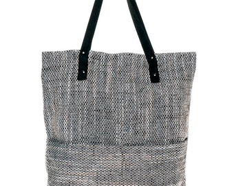 Canvas Tote Bag - CUBE MELANGE - Best for Shopping
