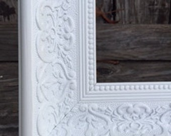 Extra Large Frame, Ornate Picture Frame,16x20,20x24, 20x30 Cottage White, Shabby Chic, Wedding Frame, Photo Prop #1556 (Los Angeles)