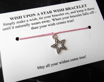Wish Upon a Star Bracelet - Choose Your Color
