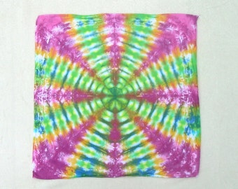 Radio Wave Tie Dye Bandana