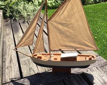 Wooden Pond Boat