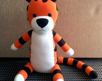 Calvin and Hobbes tiger plush