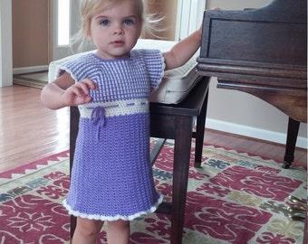 baby/toddler crochet dress