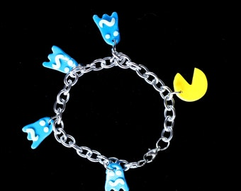 Pac Man Bracelet