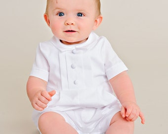 Tyler Boy Christening Outfit, Baptism, Blessing Outfit for Baby Boys