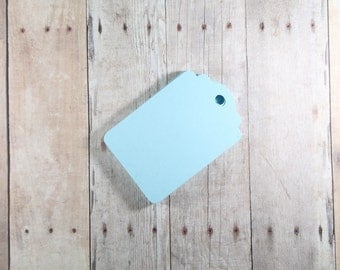 Sky Blue Gift Tags Set of 20, Blank Gift Tags, Light Blue Favor Tags, Wedding Tags, Hang Tags, Blank Wish Tree Ideas