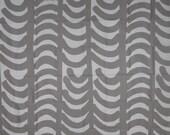 "Marimekko Fabric RAUTASANKY Grayish-Taupe 1961/2009 31""L x 56""W Remnant Br01"