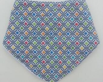 Polka Dot Dribble/Bandana Bib