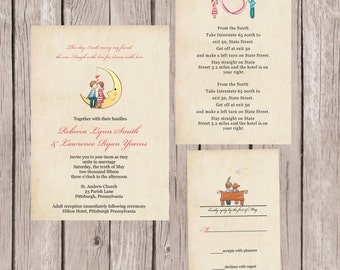 Marry My Best Friend Wedding Invitation, Cute Couple Wedding Invitation, Lovebirds Wedding Invitation, Custom Wedding Invitation