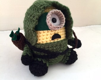 Batman Minion PDF Pattern Crochet for Amigurumi Doll Plush ...