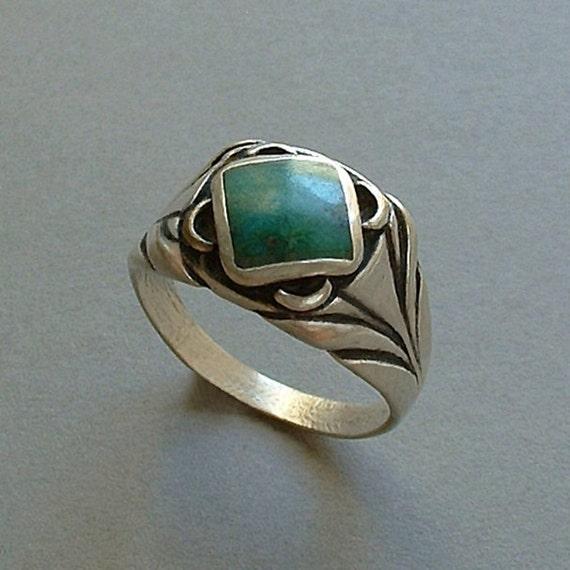 Old Pawn Vintage Native American Men S Navajo Ring
