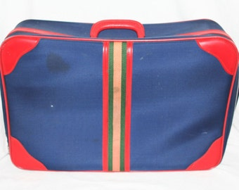 Vintage Airway Industries Suitcase Luggage