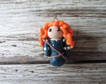 Merida from Brave clay figure