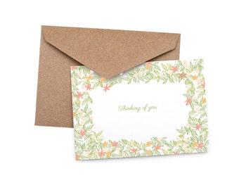 Thinking Of You - Sympathy Blank Card