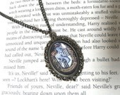 Hufflepuff Just and Loyal Vintage House Pride Necklace