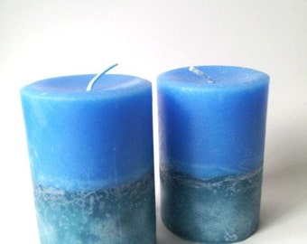 Cool Waters Men's Pillar Candle
