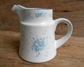 Vintage Noritake Stoneware Creamer / Penzance Pattern Creamer / Noritake Stoneware Made in Japan / Penzance Small Pitcher