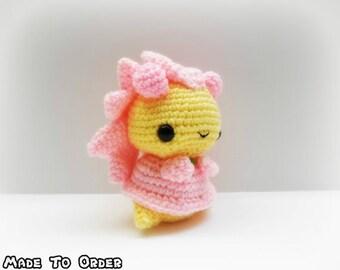 Crochet Cherrim Inspired Chibi Pokemon