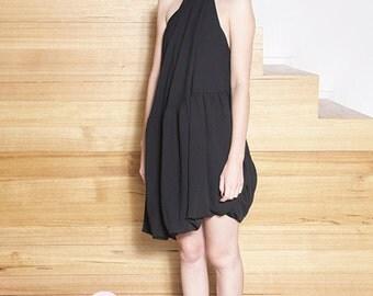 Vintage 1990's COMME DES GARCONS Convertible Halter Dress
