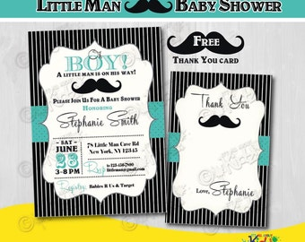 On sale little man baby shower package printable mustache mustache baby shower invitation little man baby shower invite little man baby shower invitation pronofoot35fo Image collections