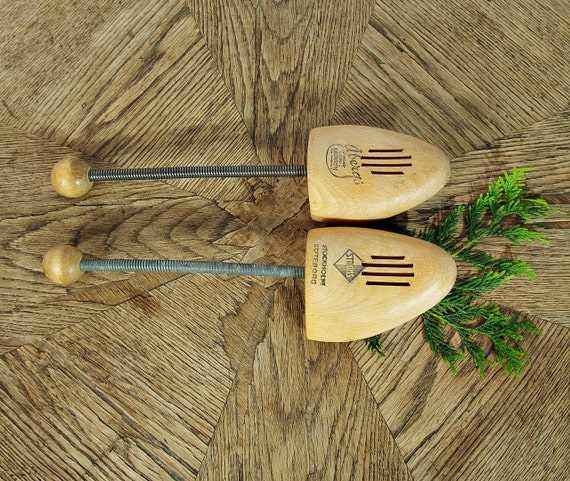 SALE! Vintage Stroms wooden swedish shoe forms / size 39 - 42 (US woman 7.5 - 9.5)