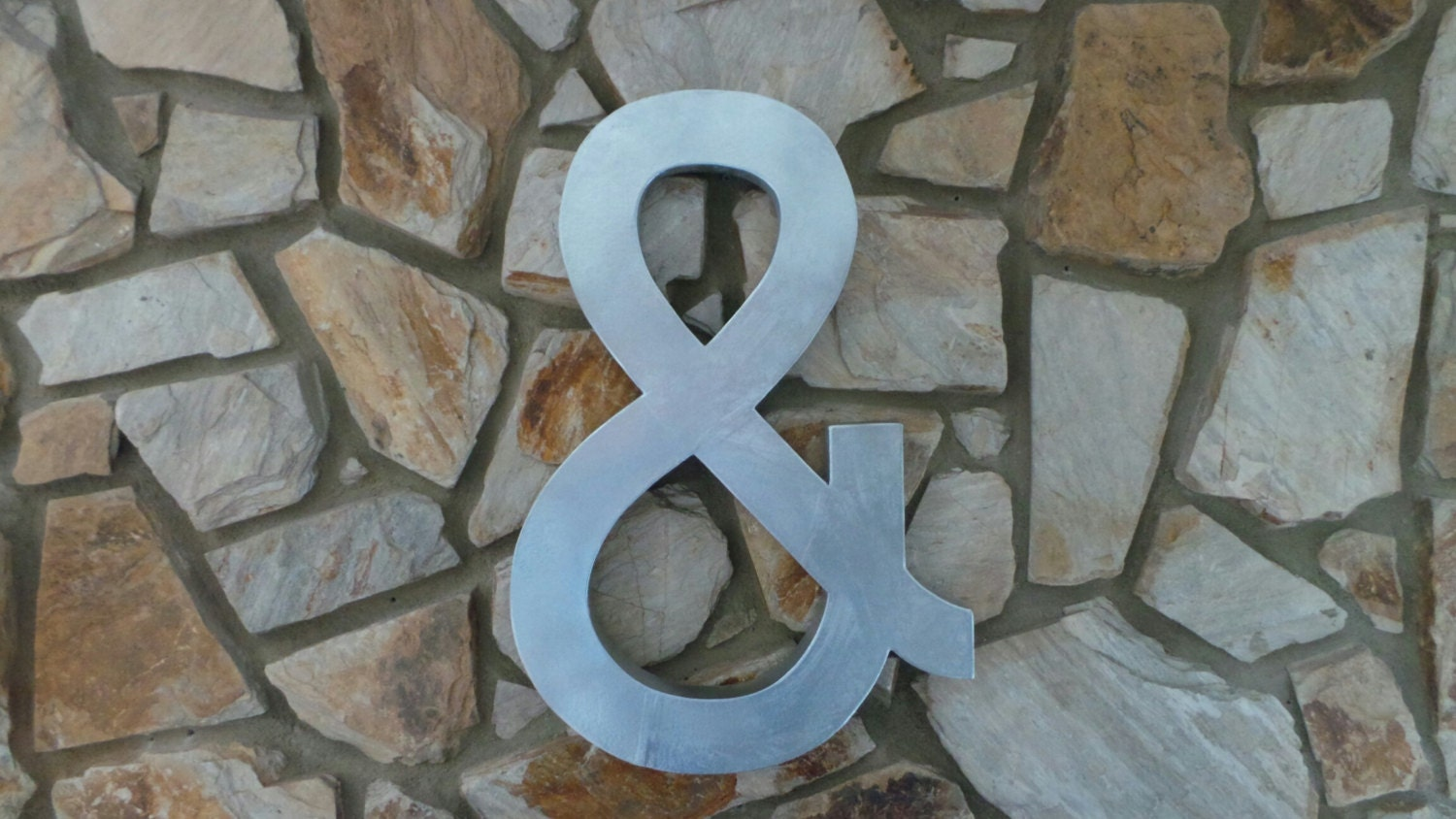 Faux zinc 24 metal paper mache letters a z and custom for 24 cardboard letters