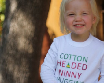 "Children's ""Cotton Headed Ninny Muggins"" Tee"