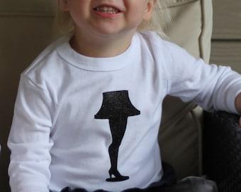 Children's Leg Lamp T-shirt