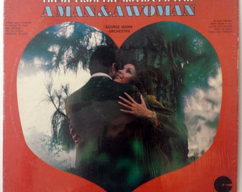 George Mann Orchestra - Theme From The Motion Picture A Man & A Woman LP Vinyl Record Album, Custom Records - CS 1076, Jazz