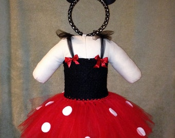Minnie Mouse Inspired Tutu Costume