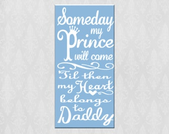 Someday My Prince Will Come Canvas Wall Art