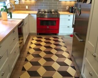 Linoleum Floors Etsy
