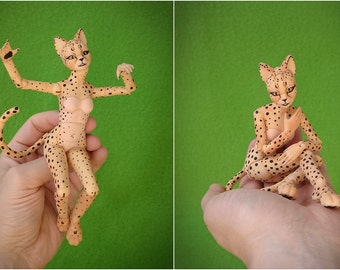 BJD Furry cat Elleo