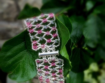 Rose Lattice Bracelet