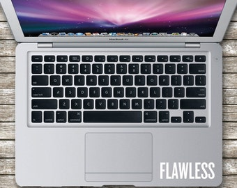 Flawless Laptop Decal, Laptop Decal, Car Decal (Various Sizes)