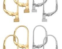 4 Pair Set Earring Converters  Earring Convertiblez Converts post earrings to lever back dangle earring