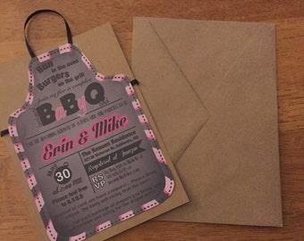 BBQ Baby Shower Printable Invitation