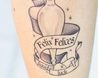 Felix Felicis Temporary Tattoo