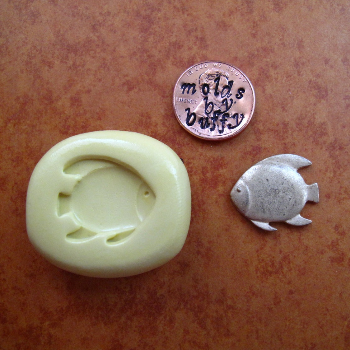 Fish silicone flexible mold resin mold food mold pmc mold for Silicone fish molds