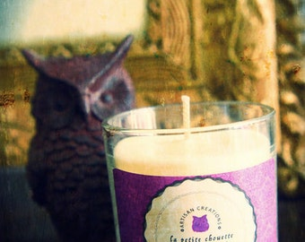 Candle scent violet 200g