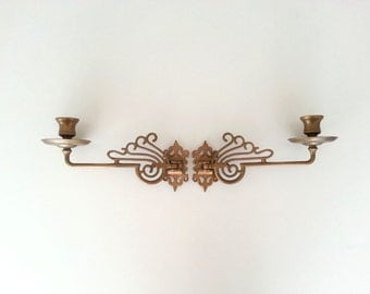 Modern look 80s piano sconces