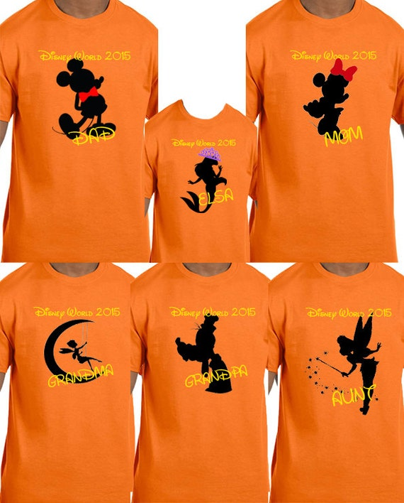 disney world family shirts by tsays on etsy disney
