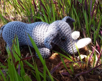 Star Wars Amigurumi Crochet Pattern Free : Amigurumi rhino Etsy