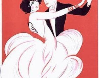 Cours de Danse. Original Poster. 1977