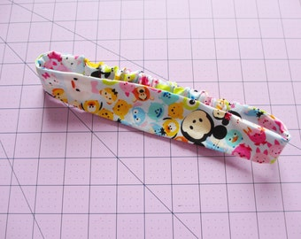 Tsum Tsum Characters Print Cotton Elastic Headband